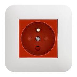 300443 Gniazdo typu Data z z blokadą torów prądowych + klucz uprawniający