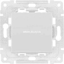 3504103 Ramka podwójna + uchwyt do modułów 45x45 (wymiar zewn. 151x80)