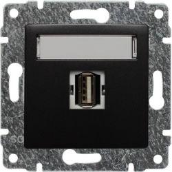 516151 Gniazdo multimedialne USB, bez ramki