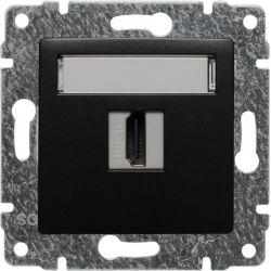 516150 Gniazdo multimedialne HDMI, bez ramki