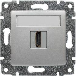 514050 Gniazdo multimedialne HDMI, bez ramki