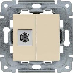 450354 Gniazdo TV SAT pojedyncze  typu F