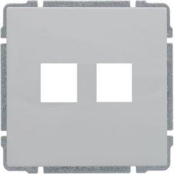6604802 Pokrywa gniazda telefonicznego do Keystone 22,5x45mm