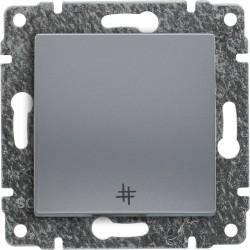 514017 Łącznik krzyżowy z klawiszem, bez ramki