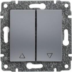 514018 Przycisk żaluzjowy z klawiszem, bez ramki