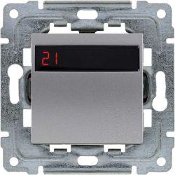 4541815 Regulator temperatury z wbudowanym czujnikiem temperatury, bez ramki