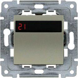 4550815 Regulator temperatury z wbudowanym czujnikiem temperatury, bez ramki