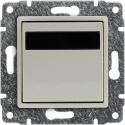 5103815 Regulator temperatury z wbudowanym czujnikiem temperatury, bez ramki