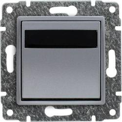 5141815 Regulator temperatury z wbudowanym czujnikiem temperatury, bez ramki