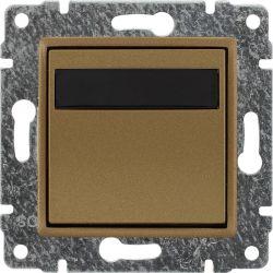 5130815 Regulator temperatury z wbudowanym czujnikiem temperatury, bez ramki