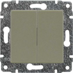 515080 Zaślepka modułowa (2szt. 22,5mmx45mm)