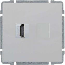 660450 Gniazdo multimedialne HDMI, bez ramki