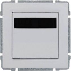 6604815 Regulator temperatury z wbudowanym czujnikiem temperatury, bez ramki