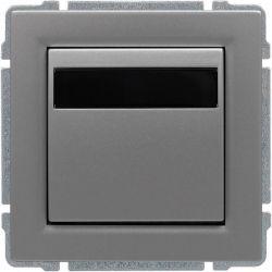 6640815 Regulator temperatury z wbudowanym czujnikiem temperatury, bez ramki
