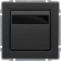 6660815 Regulator temperatury z wbudowanym czujnikiem temperatury, bez ramki