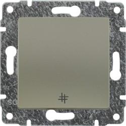 515017 Łącznik krzyżowy z klawiszem, bez ramki
