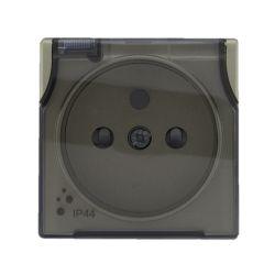 5150039 Pokrywa Gniazdo bryzgoszczelne poj. z uziemieniem z przesłoną torów prądowych, bez ramki