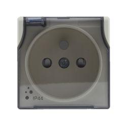 5103039 Pokrywa Gniazdo bryzgoszczelne poj. z uziemieniem z przesłoną torów prądowych, bez ramki