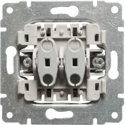 911220 Mechanizm Przycisk podwójny, bez ramki