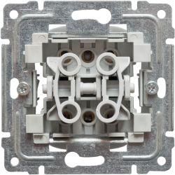 911219 Mechanizm łącznik podwójny schodowy, bez ramki