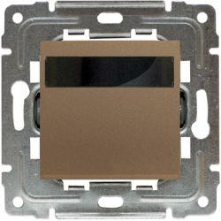 4530815 Regulator temperatury z wbudowanym czujnikiem temperatury, bez ramki