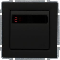 6609815 Regulator temperatury z wbudowanym czujnikiem temperatury, bez ramki