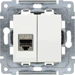 450266 Gniazdo komputerowe poj. RJ45,  bez ramki