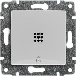 """520414 Przycisk """"dzwonek"""" podświetlany z klawiszem, bez ramki"""
