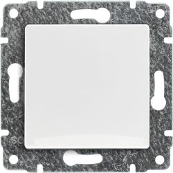 510210 Przycisk  z klawiszem, bez ramki