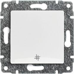 510217 Łącznik krzyżowy z klawiszem, bez ramki