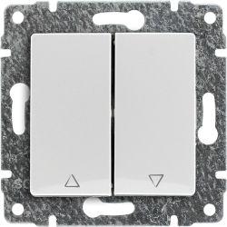 510218 Przycisk żaluzjowy z klawiszem, bez ramki