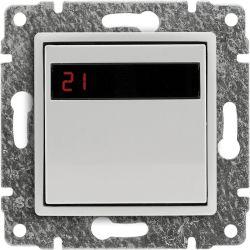5102815 Regulator temperatury z wbudowanym czujnikiem temperatury, bez ramki