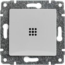 520410 Przycisk podświetlany z klawiszem, bez ramki