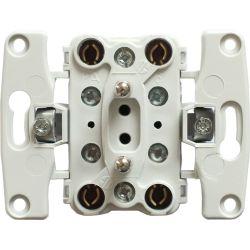 911236 Mechanizm Gniazdo podwójne z uziemieniem kompletne