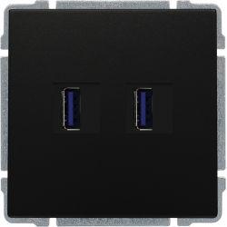 660957 Ładowarka USB 3.0 podwójna