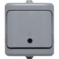 190003 Przycisk światło,  IP54 - podświetlany