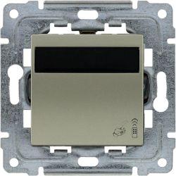 455062 Ściemniacz (122) - sterownik oświetlenia, sterowanie klawiszem i dowolnym pilotem, możliwość programowania.