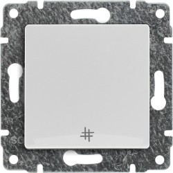 510417 Łącznik krzyżowy z klawiszem, bez ramki