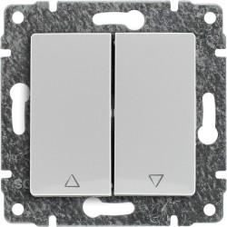 510418 Przycisk żaluzjowy z klawiszem, bez ramki