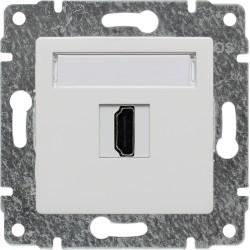 510450 Gniazdo multimedialne HDMI, bez ramki